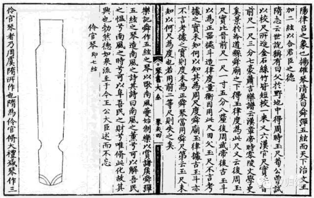 琴书大全——历代琴式