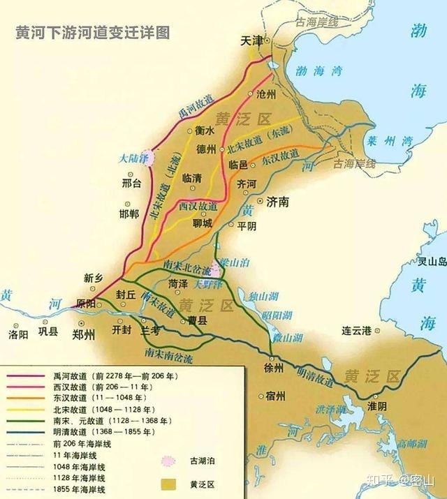 大河之南千年水患,曾经一个超级工程构想,差点改变华夏历史