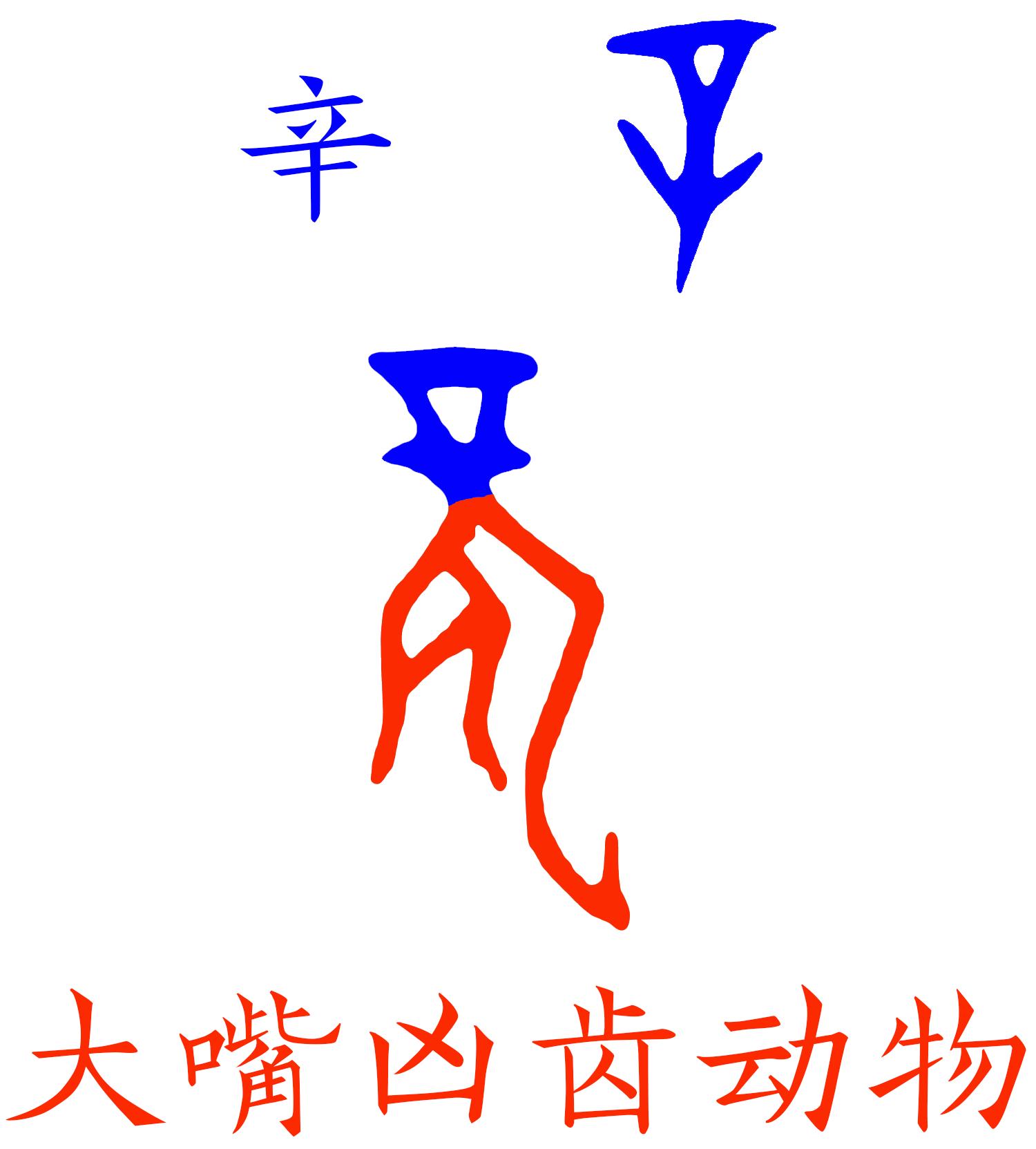 《说文》改错-龙(连载0007)